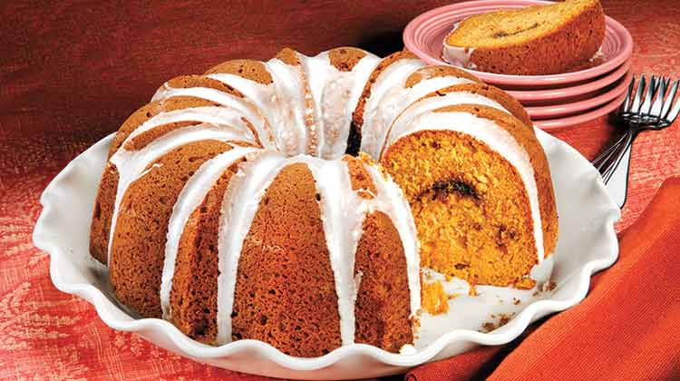 Sour Cream Pumpkin Bundt Cake Recipe